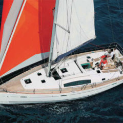 Oceanis 43 for rent in Ibiza Formentera