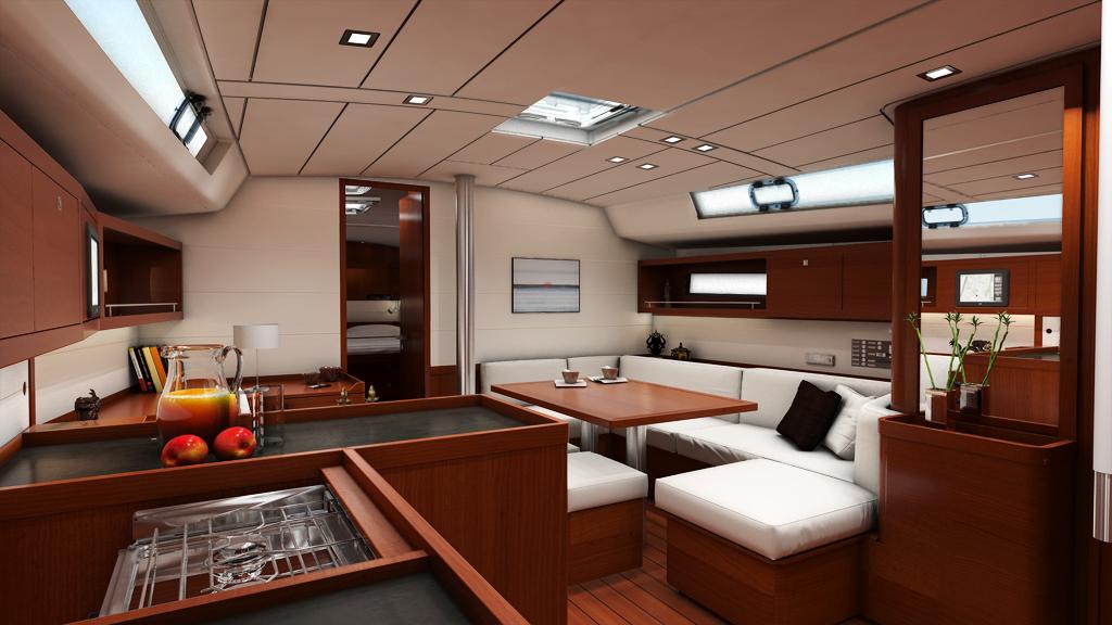 Oceanis 45 6 Berths Boat Rental Ibiza Formentera Charter