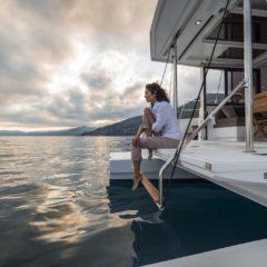 Alquila este catamaran bali 4.0 y disfruta su plataforma de popa