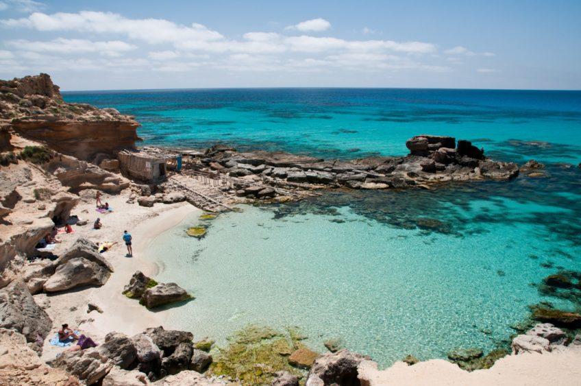 Cala des Morts – Guía de Formentera