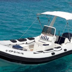 Charter RIB Valiant 620 in Ibiza and Formentera