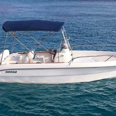 Motor boat Sessa Key Largo 19 for rent in formentera