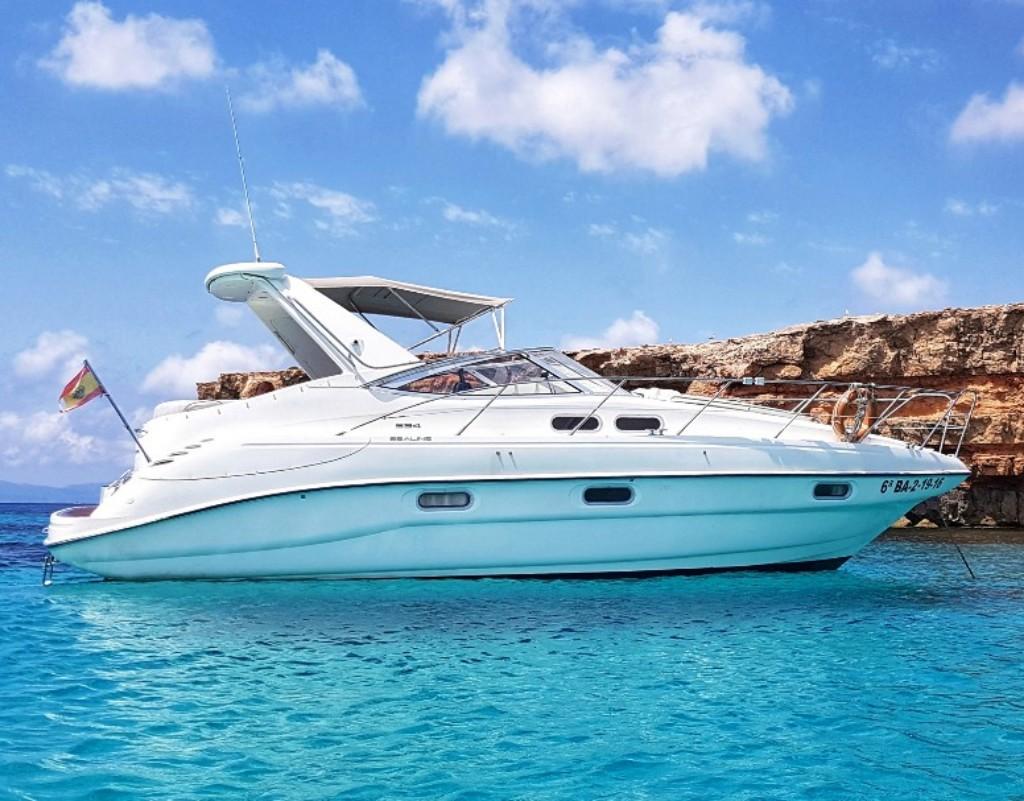 Sealine S34 charter ibiza formentera